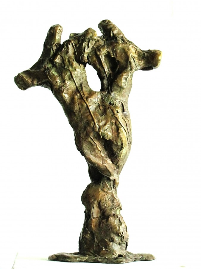 Rites of the Spring, bronze, back view